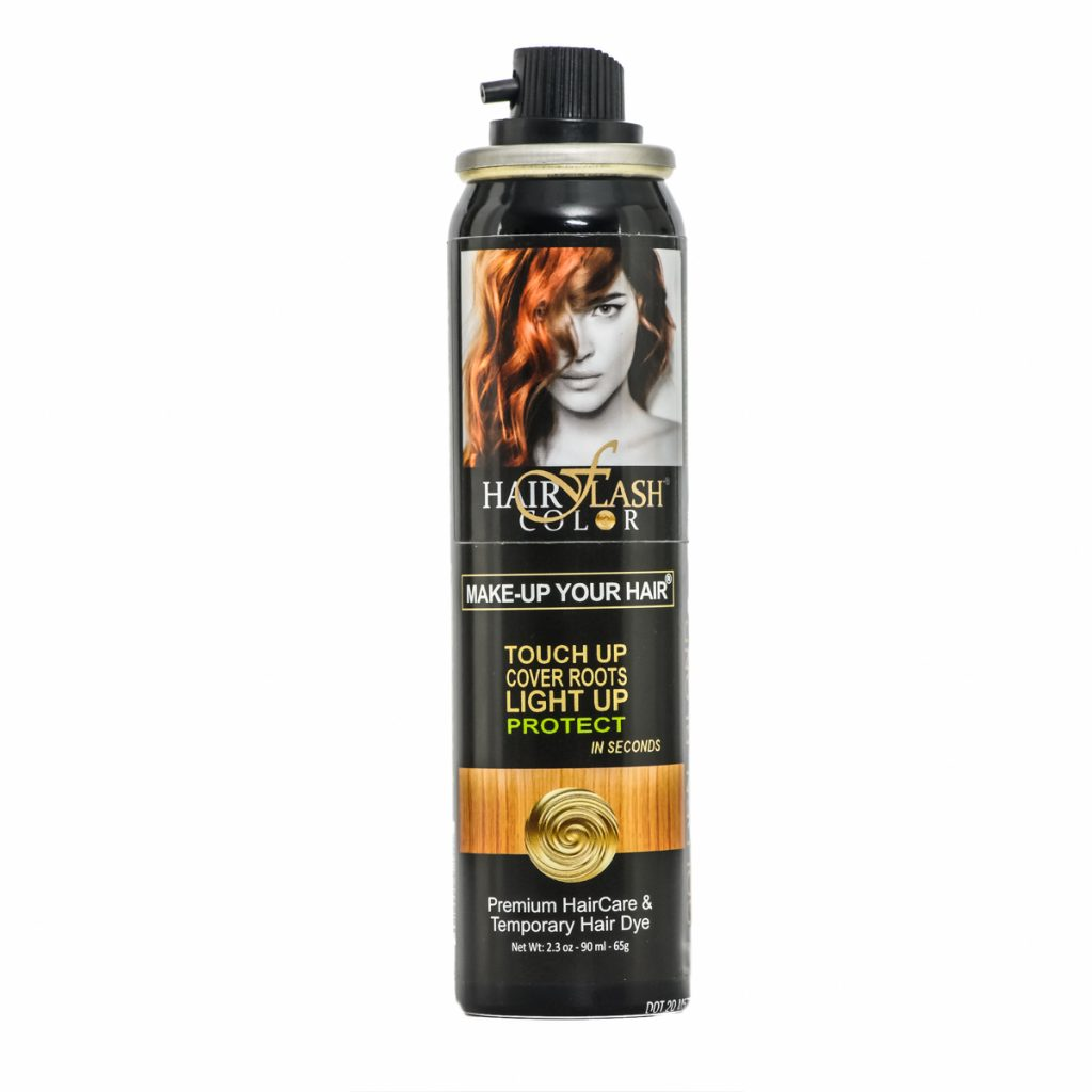 Spray on hair color