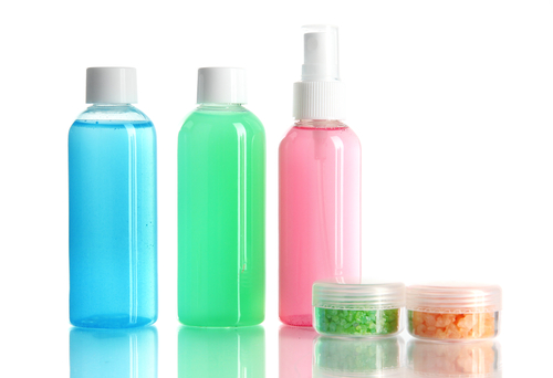travel size bottles