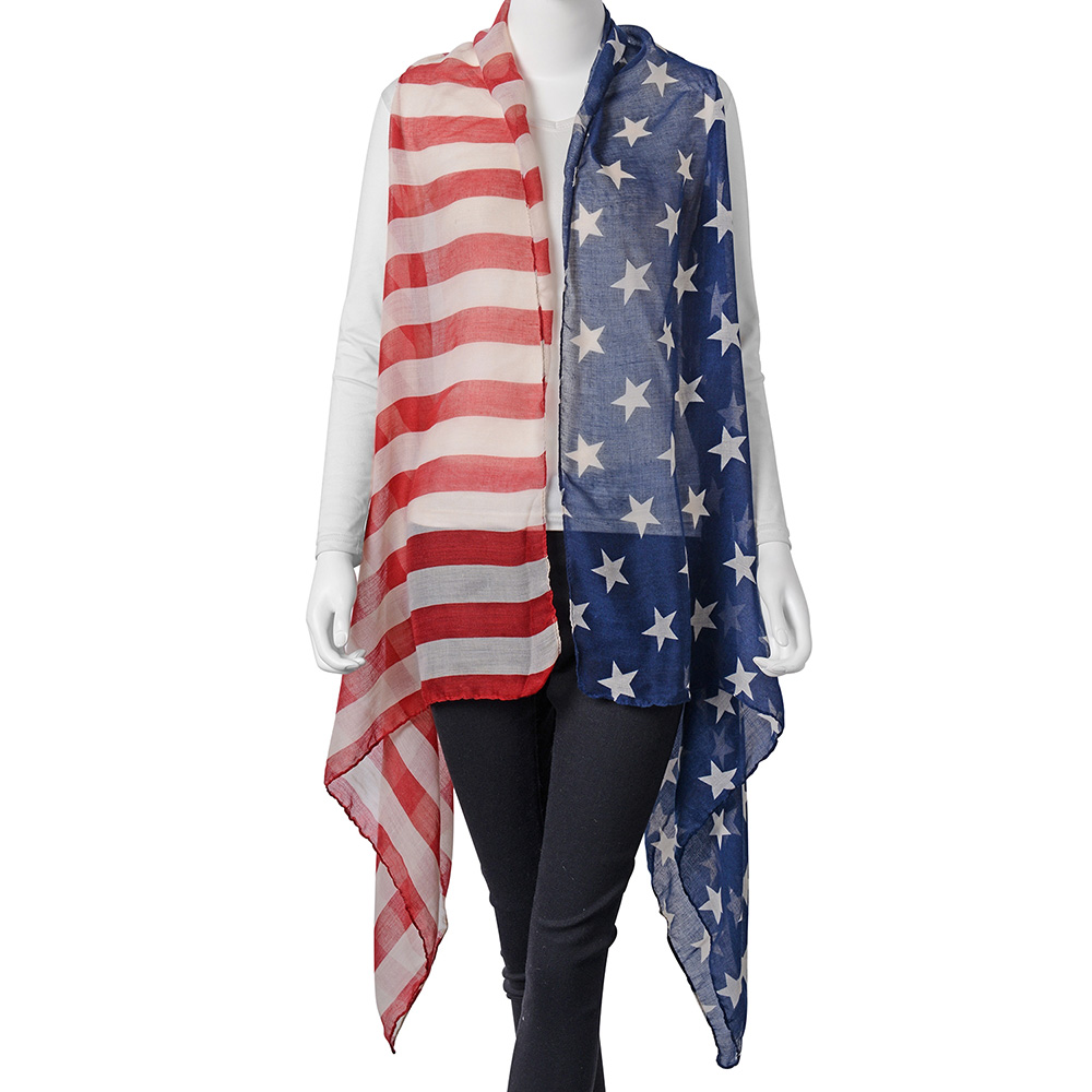 American flag women's cover up.