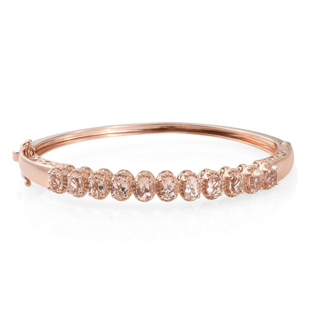 Rose gold bangle