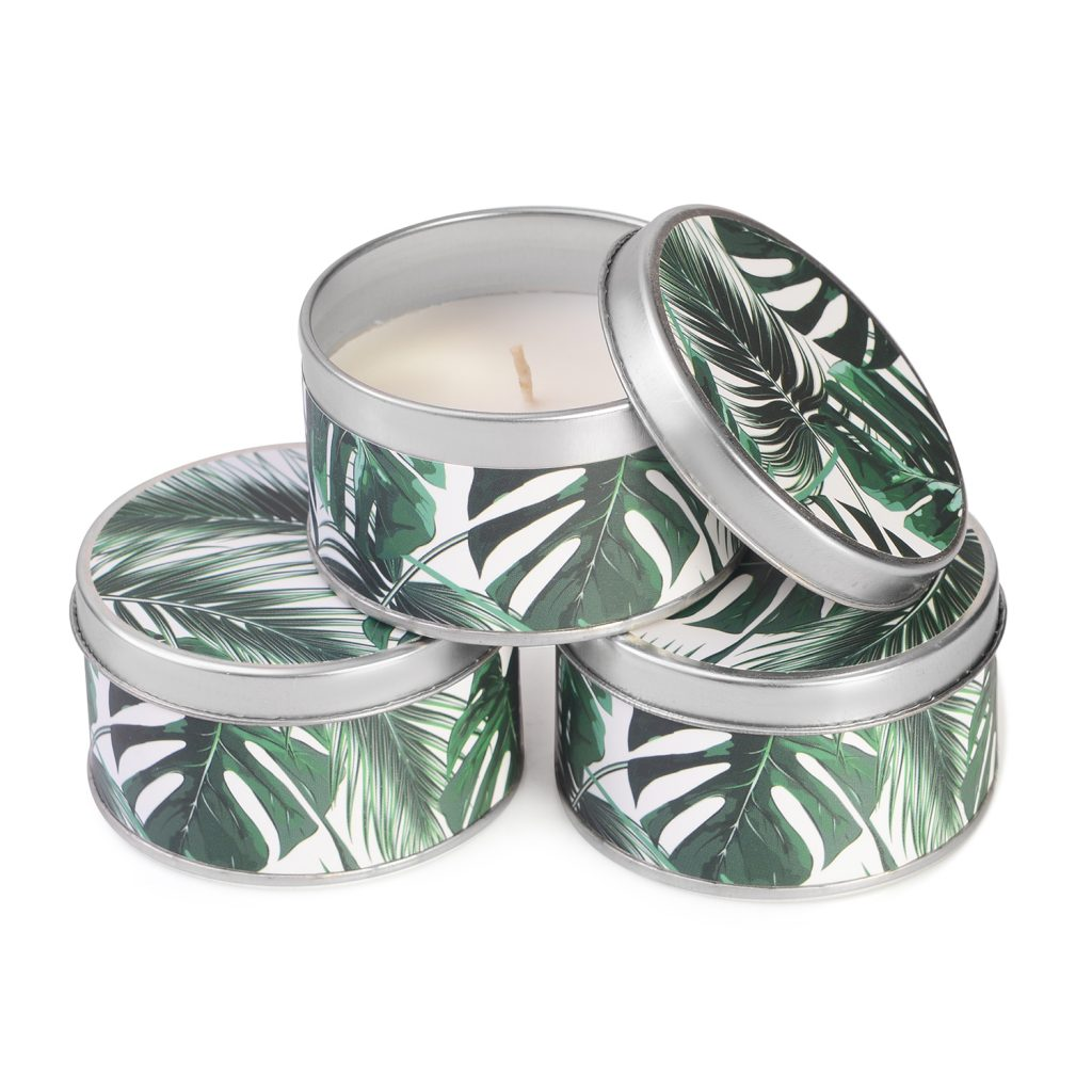 Multiple scented candle