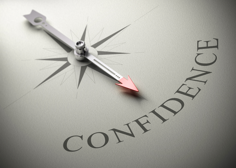 Self-confidence on a compass