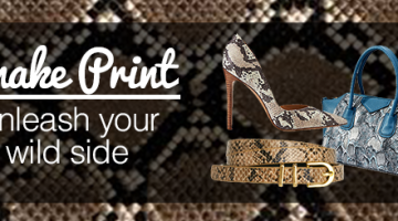 Snake Print Unleash Your Wild Side