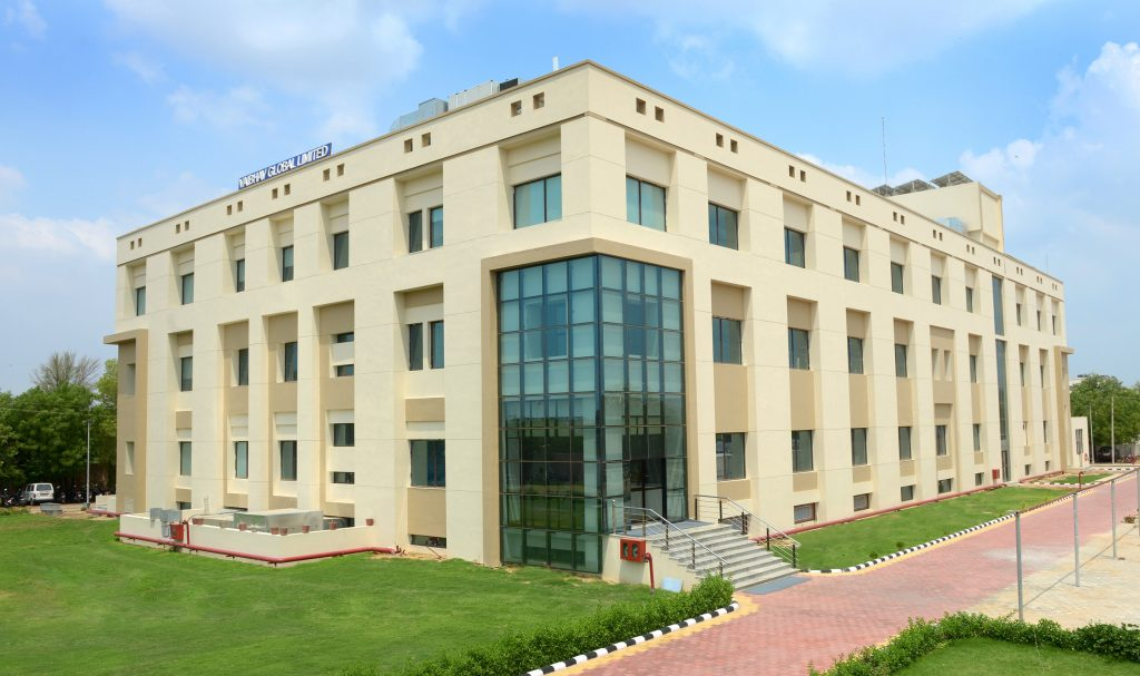 The new green jewelry manufacturing facility in Jaipur.
