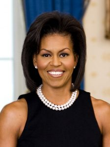 Official White House Michelle Obama portrait, 2009.