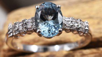 Premium Espirito Santo Aquamarine Ring