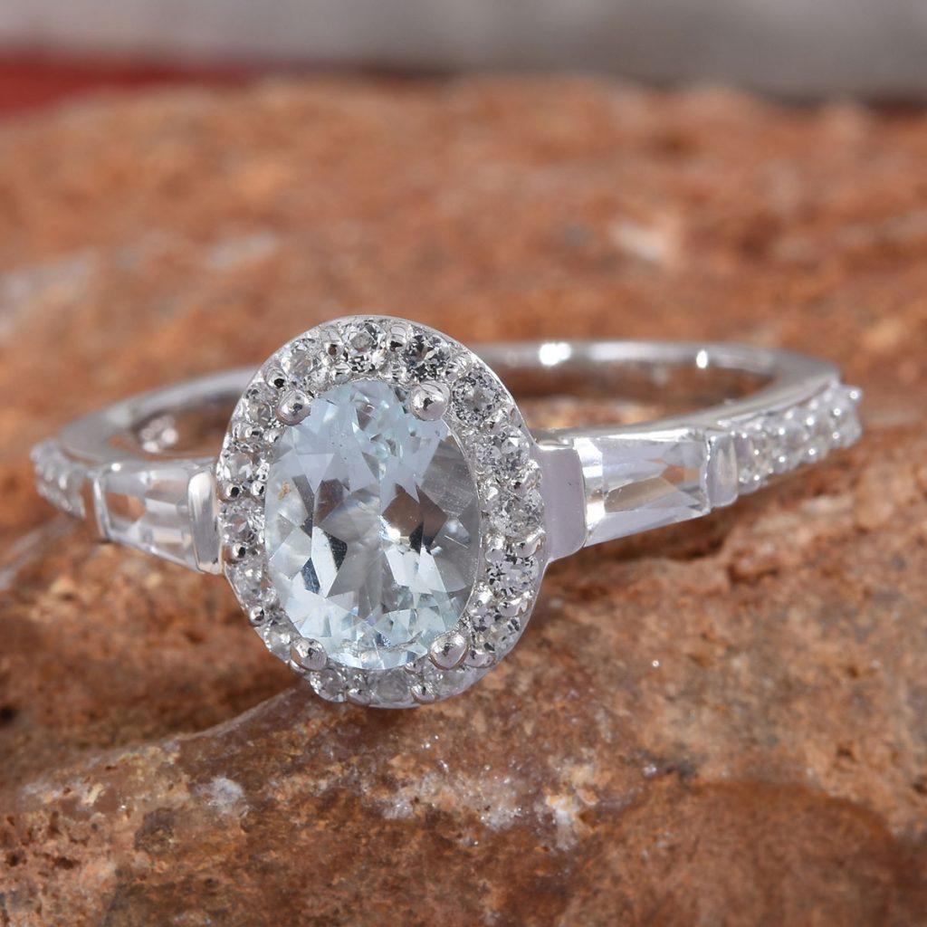 Espirito Santo Aquamarine Ring
