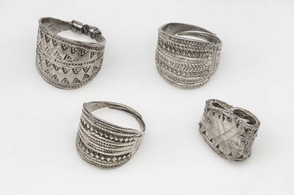 Ancient Viking rings.