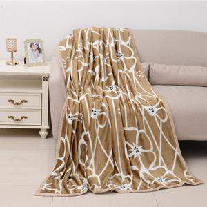 Throw blanket draped over a couch.