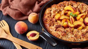 Featured Image: Dishing on Peach Cobbler
