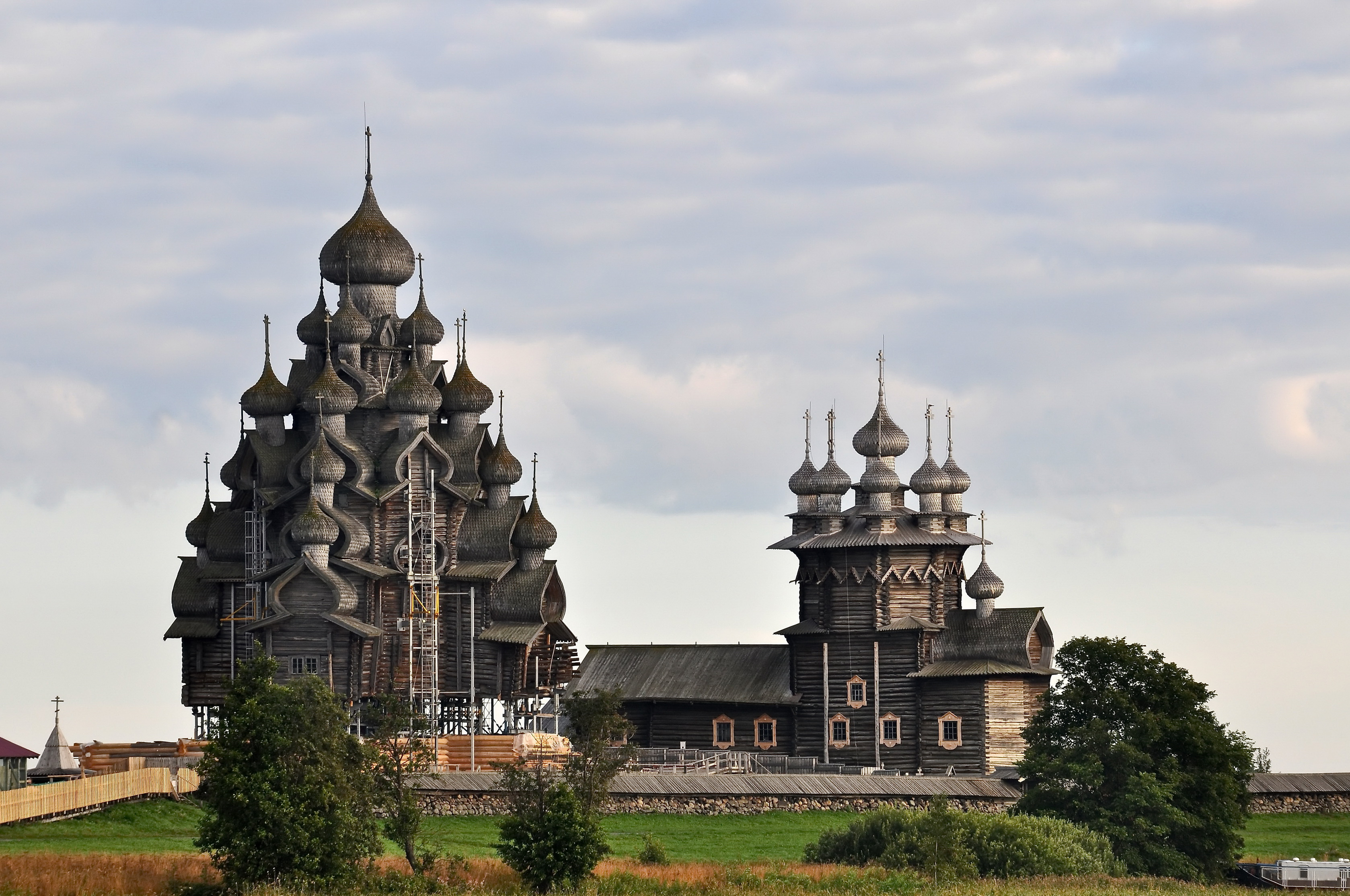 Karelian wooden architecture.