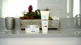 CrepeSilk skincare products.