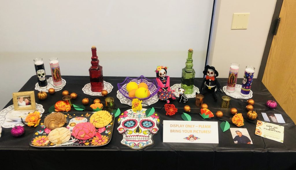 Day of the Dead altar at Shop LC.