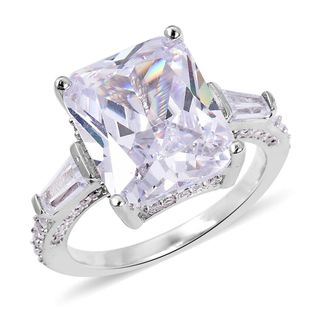 LUSTRO STELLA CZ Ring in Sterling Silver