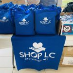 Shop LC totes bags with gifts for veterans.