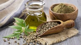 Hemp seeds and hemp oil.