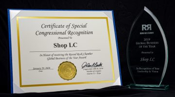 Shop LC - 2019 Global Business of the Year