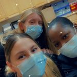 Frontline workers from Treasure Coast Podiatry wearing face masks.