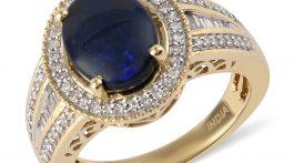 Black opal beauty.